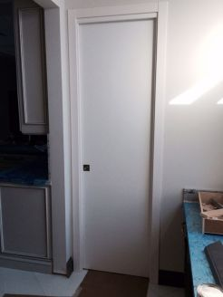 Pocket Door White Matt