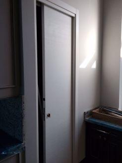 Pocket Door White Matt installation
