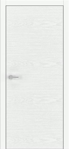 Unica White Ash - Solid Core Wood Modern Interior Door
