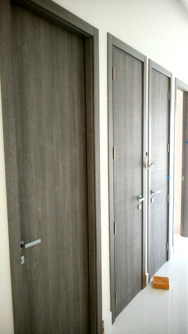 Tranche Grey Doors Real Project