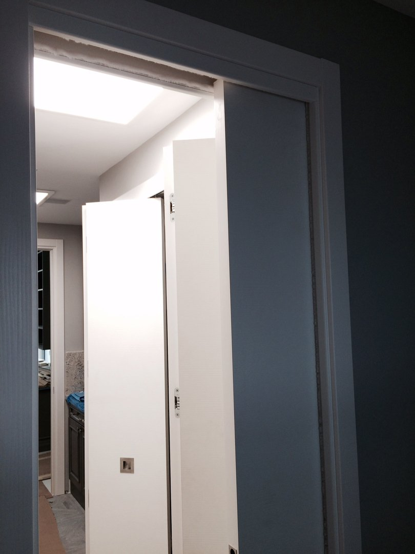 Bi-Fold Door White Matt