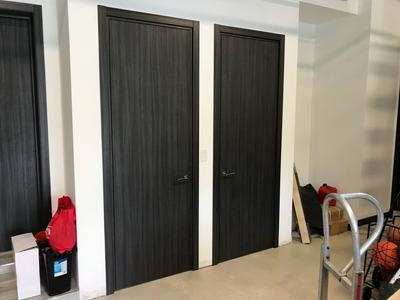 Modern Interior Doors, Palissandro Blu - real project