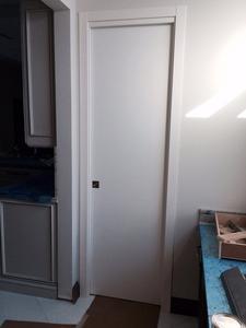 Pocket Door White Matt