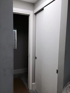 Bypass Door White Matt