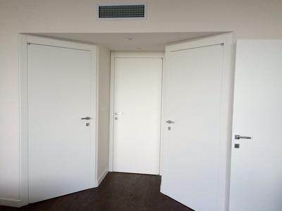 White Matt Doors